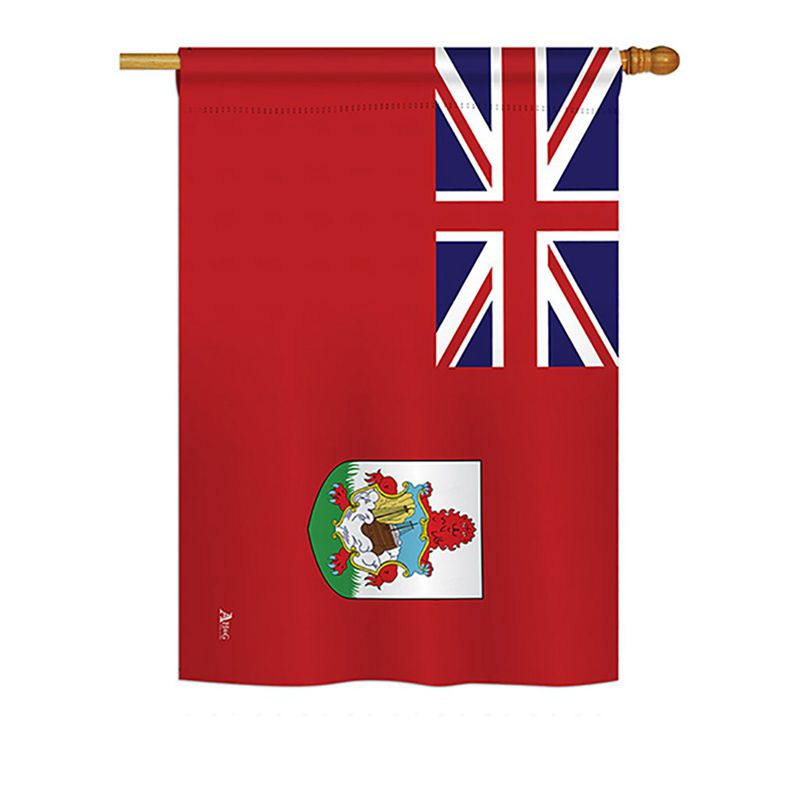 Garden Bermuda Flags Of The World Nationality Impressions Decorative Vertical 28 X 40 Double Sided House Flag Buy Product