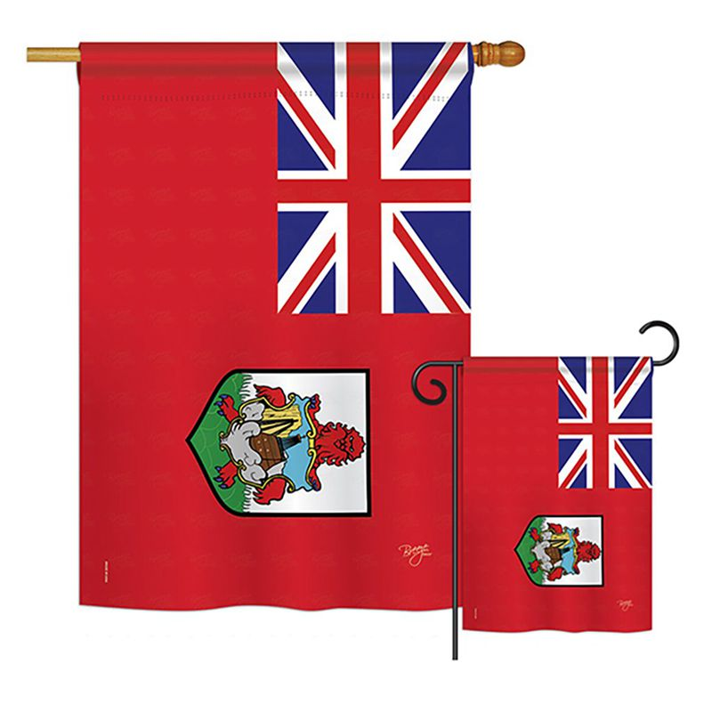 Bermuda Flags Of The World Nationality Impressions Decorative Vertical House 28 X 40 Garden 13 18 5 Double Sided Set Buy Product